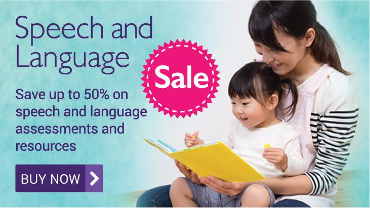 Speech and Language Sale