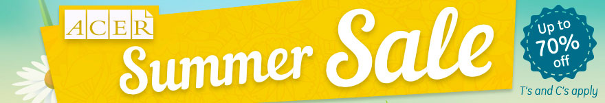 ACER summer sale now on