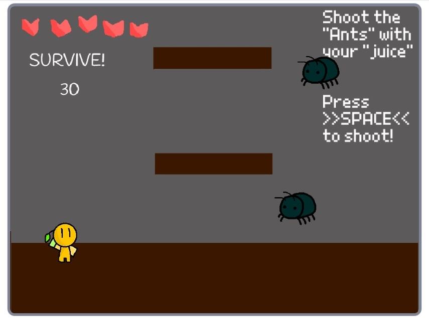 Arachnophobia screenshot