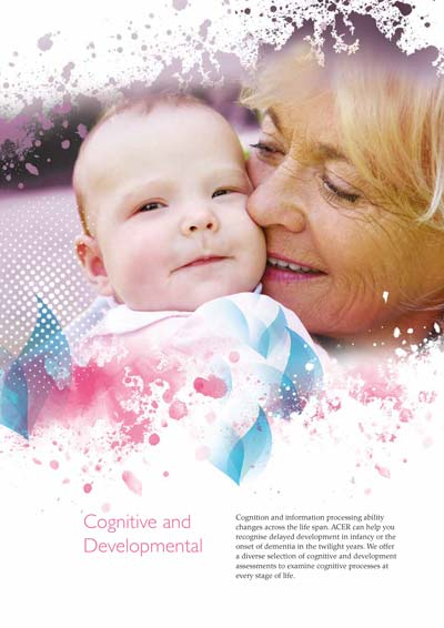 Clinical assessments - Cognitive and Developmental brochure