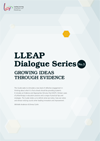 Cover of LLEAP Dialog Series 3