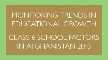 MTEG Afghanistan report