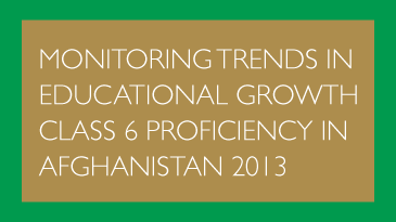 Monitoring Trends in Educational Growth - MTEG