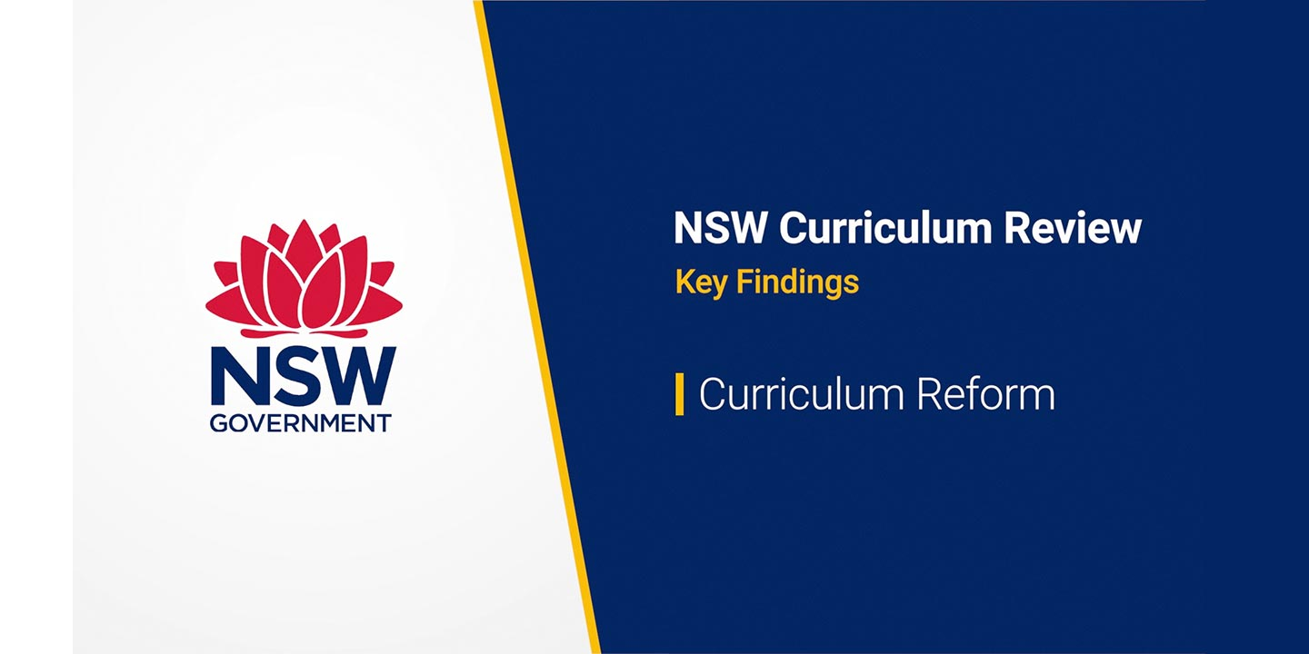 NSW Curriculum Review Interim Report released