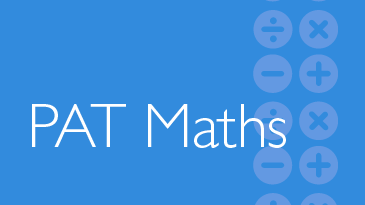PAT Maths - Progressive Achievement Tests in Mathematics