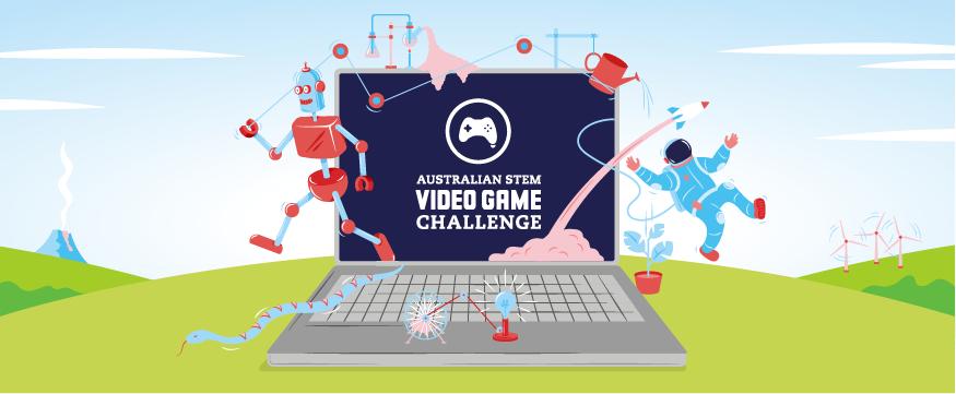 Registrations open for Australian STEM Video Game Challenge