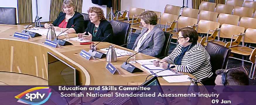 Scottish Parliament hears from ACER on national assessments