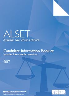 ALSET - Australian Law Schools Entrance Test