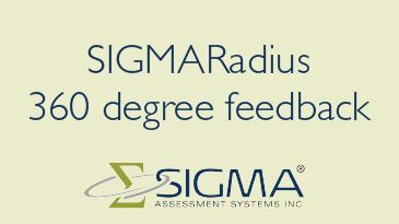 Sigma Radius 360 Feedback