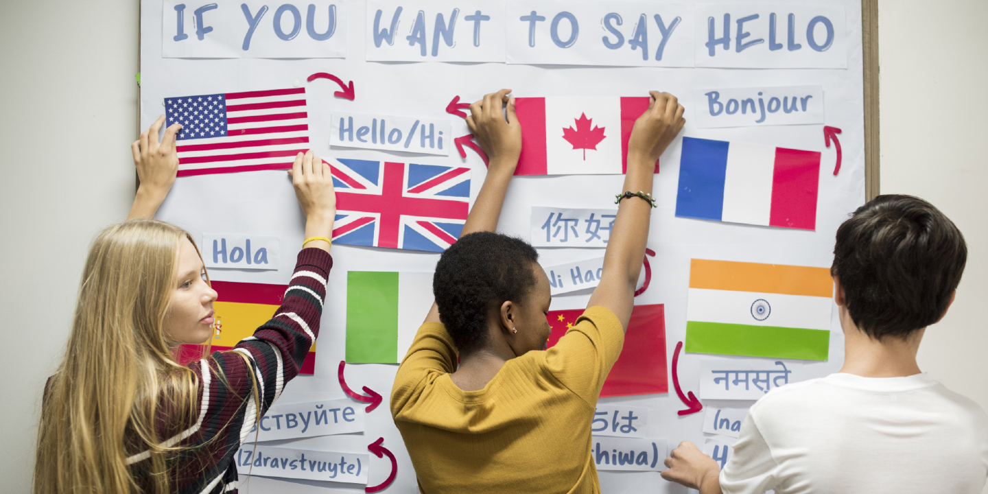 Australian students say they understand global issues, but few are learning another language compared to the OECD average