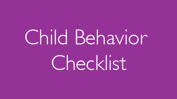 Child Behavior Checklist