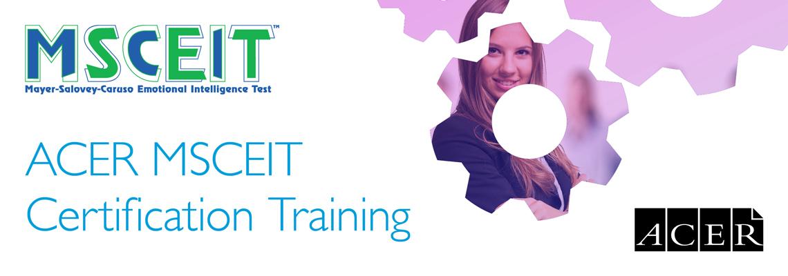 ACER MSCEIT Certification Training