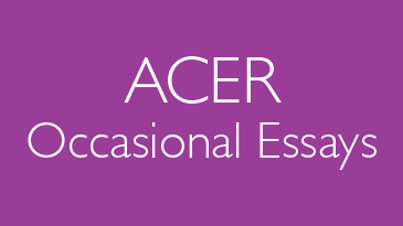 ACER Occasional Essays
